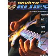Guitar Play Along Volume 166 Modern Blues Gtr BK/CD (Hal Leonard Guitar Play-Along)