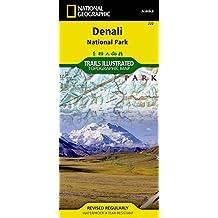 National Geographic Denali: National Park & Preserve Alaska, USA : Trails Illustrated Map.