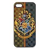 Harry Potter iPhone 5S Custodia, Serie Apple iPhone 5S Custodia Case Cover, Custodia in Silicone Skin Custodia Cover per iPhone 55S