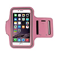 iphone 6s Armband (4.7Inch), Koly Running Sports Sweatproof Armband Gym Iphone 6/6s Arm Band Cover Case (Pink)