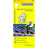 Alpes-de-Haute-Provence, Hautes-Alpes Michelin Local Map 334 (Michelin Local Maps)