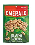 Emerald Jalapeno Cashews Stand Up Resealable Bag, 5 Ounce by Emerald