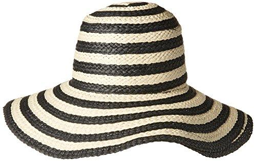 88ea5fa0489 ... Nine-West-Womens-Stripe-Floppy-Sun-Hat ...