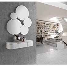 ch design recibidores modernos consola mia blanca ibergada