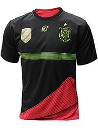 Selección española de fútbol. Camiseta oficial reversible.
