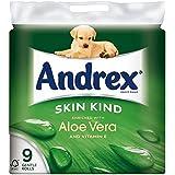 Peau Andrex Genre Enrichie De Rouleaux De Papier De Toilette Aloe Vera - 160 Feuilles Par Rouleau (9)