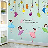 ALLDOLWEGE Wall Sticker Tanz Unterricht Wand