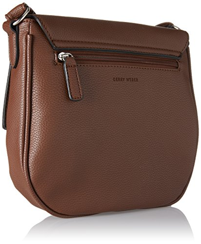 Gerry Weber - Flash Over Shoulderbag Mhf, Borse a tracolla Donna Marrone (Cognac Old)