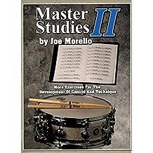 Master Studies Ii Drums