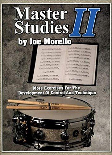 Master Studies II Drums (Book): Noten für Schlagzeug