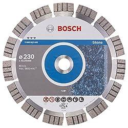 Bosch Professional Diamanttrennscheibe (für extrem hartes Gestein, Ø: 230 mm, Zubehör für Winkelschleifer)