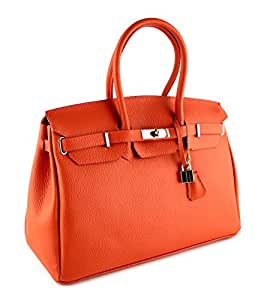 Sac à Main - CUIR Veritable - Fabriqué en Italie - genuine leather bag COLLECTION 2015 ROUGE