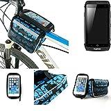 Fahrrad Rahmentasche für Ruggear RG730, Fahrradhalterung