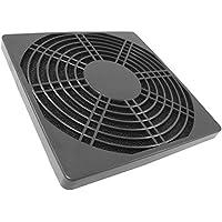 AAB Cooling Filtro de Plástico 80 Negro- cubierta del ventilador 80x80mm