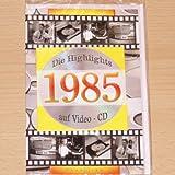 Geburtstagskarte 1985 mit Video-CD Jahreschronik