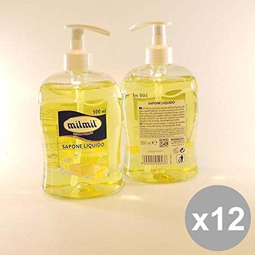 Set 12 MIL MIL Sapone Liquido 500 Marsiglia Bagnoschiuma e saponi per il corpo
