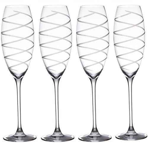 Lot de 4 Flûtes à Champagne\