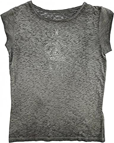 Pepe Jeans Men's T-Shirt with Rhinestones - Silver - X-Large