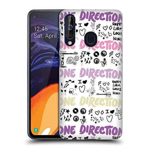 Head Case Designs Offizielle One Direction Weibliche Logo Logo Horizontal Harte Rueckseiten Huelle kompatibel mit Samsung Galaxy A60 (2019)