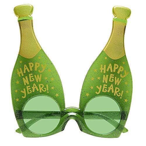 Widmann 0348P Brille Champagner, unisex-adult, One Size (Flasche Halloween-kostüm Champagner)