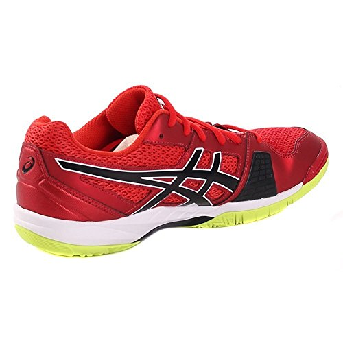 ASICS GEL BLADE VERMILION BLACK SAFETY YELLOW Rosso