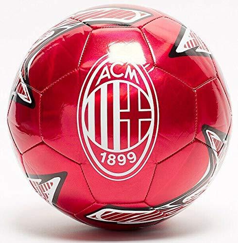 Puma AC Milan Pallone Calcio One Laser Ball 2019/20 Colore Rosso Misure Uni