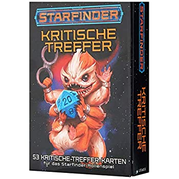 Starfinder Kartenset: Kritische Treffer