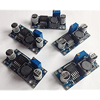 5 pack LM2596S Power Converter, 150 kHz, 3A Step-Down adjustable Voltage Regulator 5-Lead DDPAK/TO-263 (S) Package MTS1EU