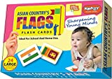 #8: Asian Country Flags Flash Cards [ Launching offer ]