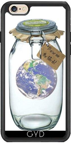 Leder Flip Case Tasche Hülle für Apple iPhone 5/5S - Die Erhaltung Der Welt by adovemore Silicone
