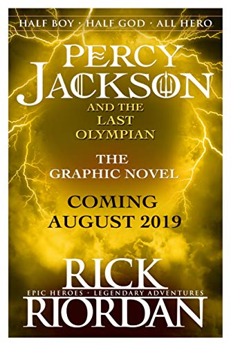 The Last Olympian: The Graphic Novel (Percy Jackson Book 5) (English Edition)