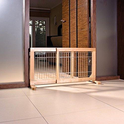 Trixie 3944 Hunde-Absperrgitter für Treppen und Türen, 63-108 x 50 x 31 cm - 2