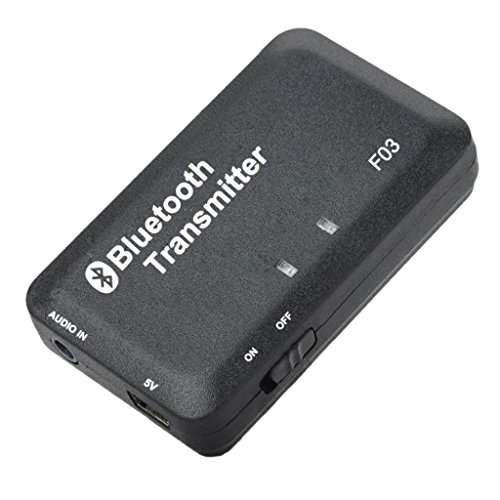 MagiDeal 3.5mm Bluetooth Transmetteur Adaptateur Audio Stéréo Pour TV Ipod Mp3 Mp4 PC