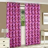 Story at Home Door Curtain, Purple, 118cm X 215cm, Dnr2003