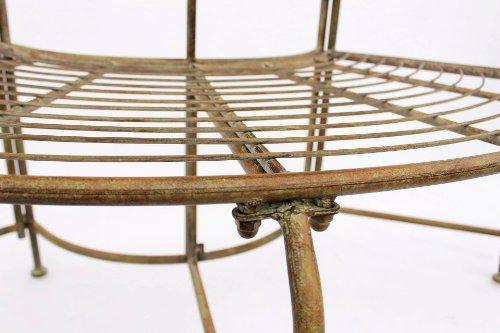 Zweisitzer Baumbank aus Metall - 4