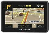 Blaupunkt TravelPilot 55 ACTIVE EU LMU - Navigationssystem mit Aktiv-Halter, kapazitives Echtglas Touch-Farbdisplay 12,7 cm (5 Zoll), Kartenmaterial Gesamteuropa, lebenslange Karten-Updates*, TMC, schwarz