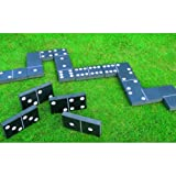 NEW GIANT DOMINOES SUMMER GARDEN PATIO PART GAME INDOOR OUTDOOR FAMILY KIDS CHILDRENS ADULT GAME TOY PARTY FUN DOMINOS DOMINO by SMART SHOPPING