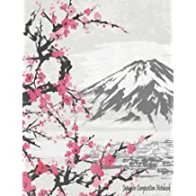 """Japanese Composition Notebook: Study with Genkouyoushi Paper for Notetaking & Writing Practice of Kana & Kanji Characters  Blank Sheet, 8.5"""" x 11"""": Volume 3"""