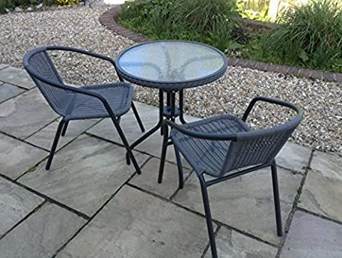 SALE Bistro Chair & Table Set with Aluminium Frame -