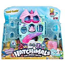 HATCHIMALS 6045505 Colleggtibles Coral Castle Playset, Mixed Colours