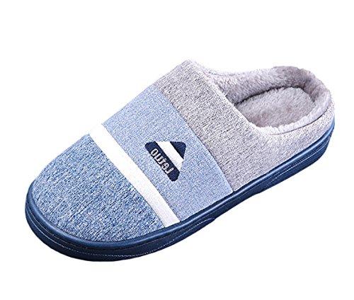 Colorato Scarpe Studio Pantofole Morbide Dell'interno Maglia Unisex Invernali Pantofole Sk Pistoni Blu Casa Di qZdWEOHw