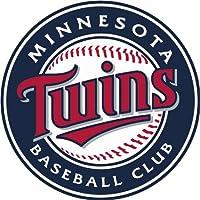 Minnesota Twins Logo MLB Baseball De Haute Qualite Pare-Chocs Automobiles Autocollant 12 x 12 cm