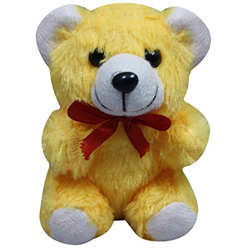Casotec Cute Teddy Bear Stuffed Soft Plush Soft Toy (14 cm) - Yellow  available at amazon for Rs.199