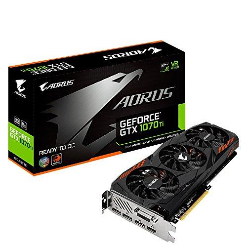 Price comparison product image Gigabyte AORUS GeForce GTX 1070Ti 8G