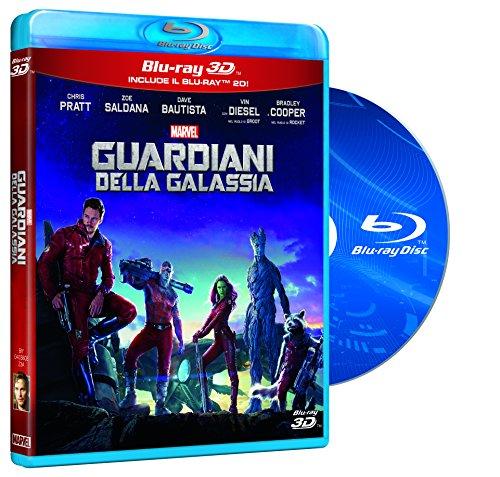 Guardiani Della Galassia (3D) (Blu-Ray + Blu-Ray 3D);Guardians Of The Galaxy