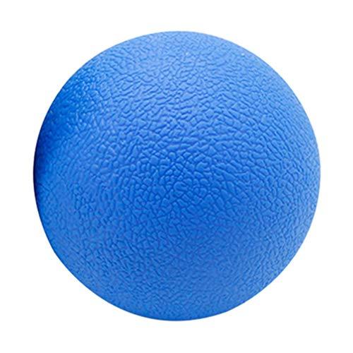 Zhifachay bemerkenswerte Sport Fitness Massage Muskulatur Peanut/Round Fascia Ball Massage Ball Hockey(None 1 Single Ball-Blue) -