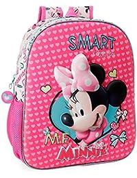 Cerdá 2100002257 Disney Minnie Mouse Sac à dos enfants, , 38 CM