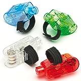 Fingerlichter für Kinder als kleines Geschenk zu Weihnachten (4 Stück)