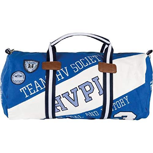 Hv Polo Society Sporttasche Tasche Sport Ashton Ocean Optical White Blau Weiß
