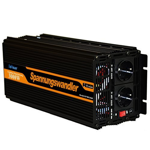 Preisvergleich Produktbild Wechselrichter ladegeräten 3000 6000W spannungswandler 12v 230v wechselrichter modifizierte sinus inverter